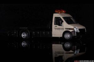 Iveco Daily V | Autotransporter | Bburago | 1:43 | www.andere.hahlmodelle.de