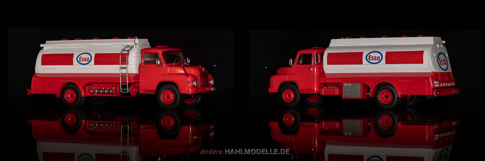 MAN 626 II | LKW Tankwagen | Ixo | 1:43 | www.andere.hahlmodelle.de