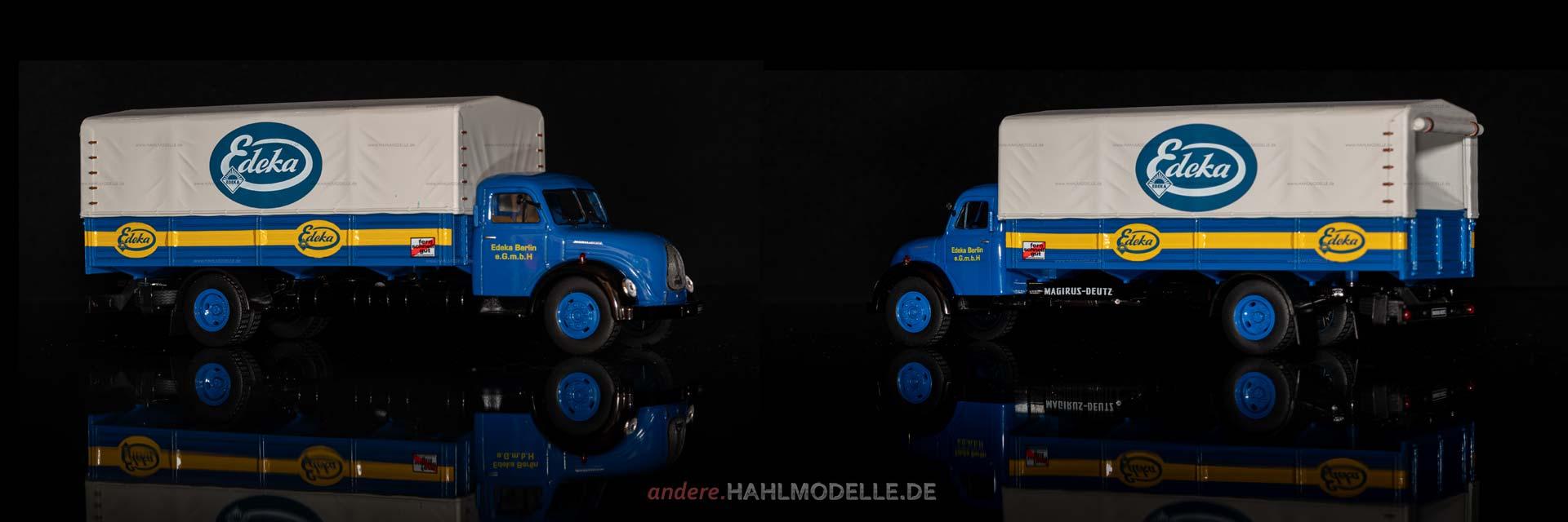 Magirus-Deutz Merkur 120 L | LKW Pritsche/Plane | Ixo | 1:43 | www.andere.hahlmodelle.de