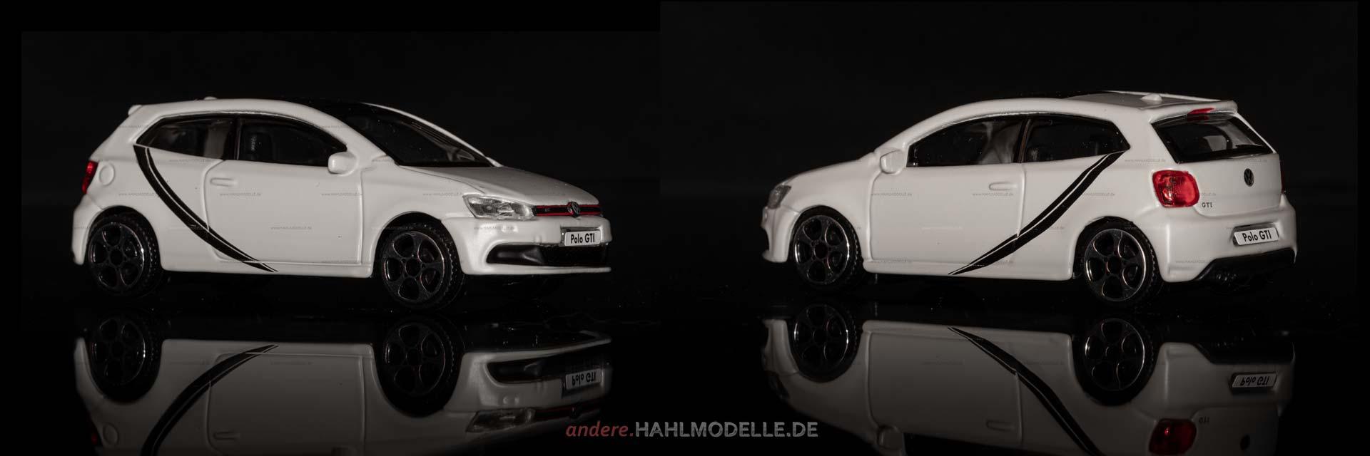 Volkswagen Polo V GTI (Typ 6R) | Limousine | Bburago | 1:43 | www.andere.hahlmodelle.de