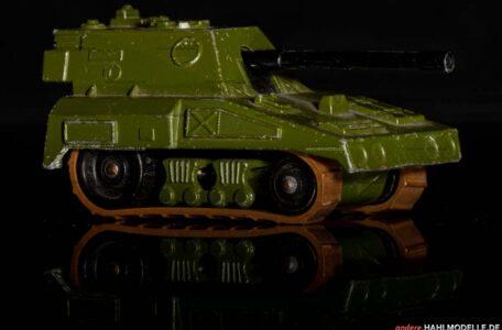 """S.P.Gun (Self Propelled Gun)"" | Panzer | Lesney Products & Co. Ltd. | Matchbox Rolamatics | 1:64 | www.andere.hahlmodelle.de"