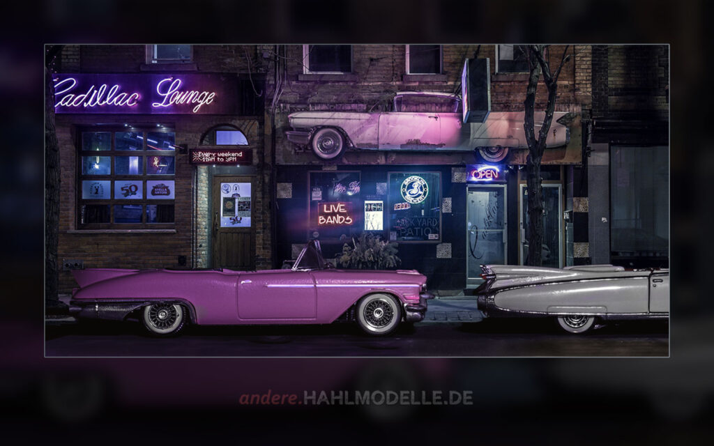 1957er und 1959er Cadillac Eldorado Biarritz Convertible