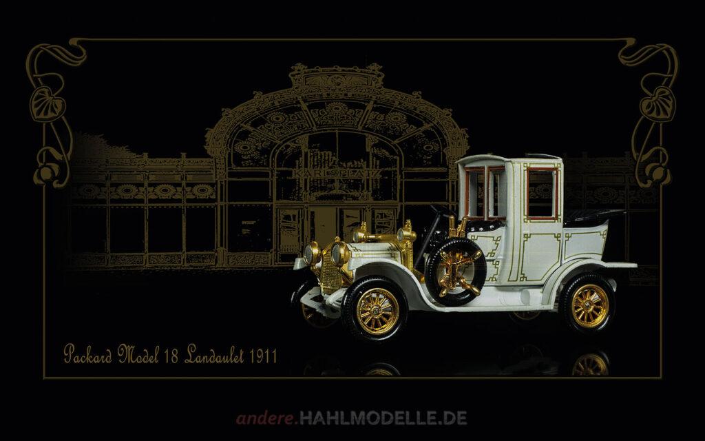 Automobildesign 1910-1919: Packard Model 18 Landaulet