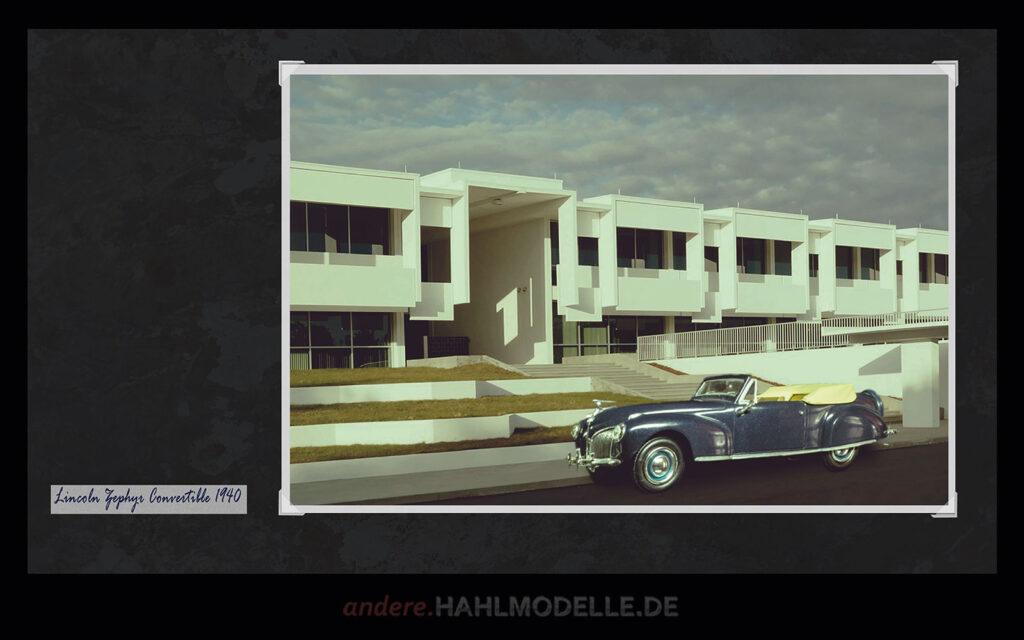 hahlmodelle.de | Automobildesign 1940-1949: Lincoln Zephyr, Cabriolet