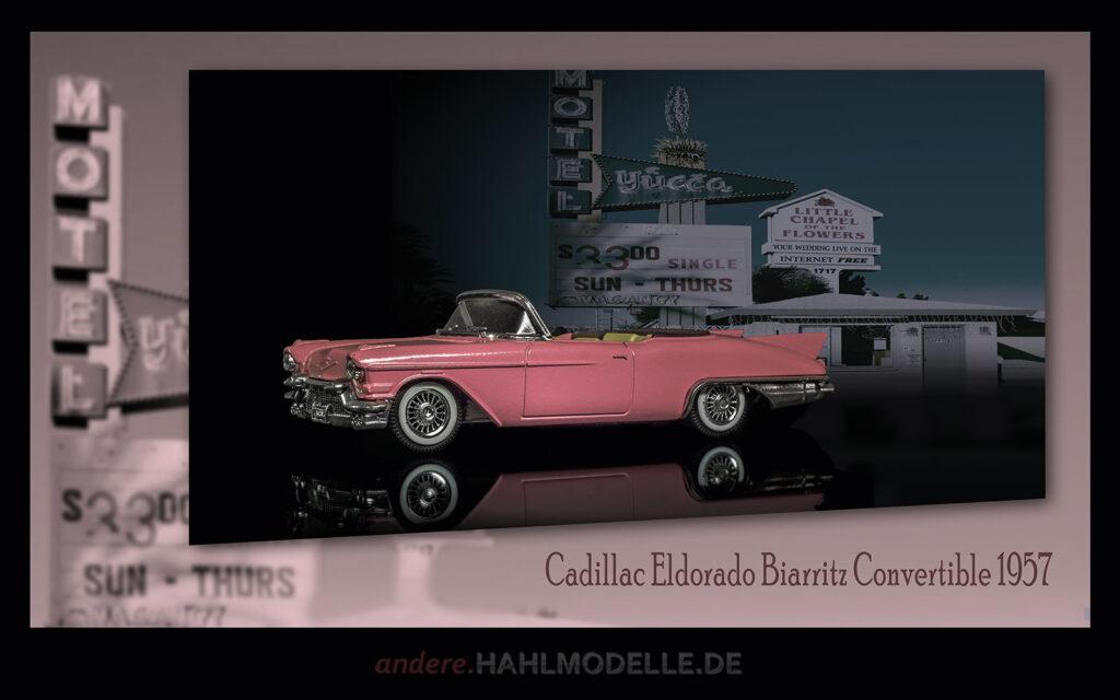 hahlmodelle.de | Automobildesign 1950-1959: Cadillac Eldorado Biarritz Convertible, Cabriolet