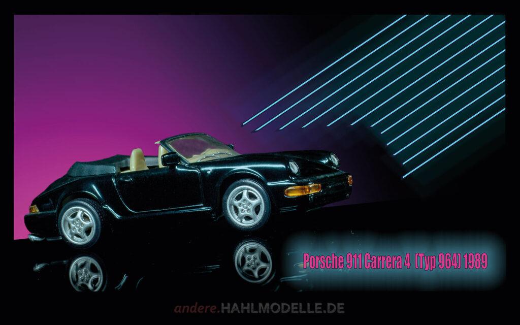 hahlmodelle.de | Automobildesign 1980-1989: Porsche 911 Carrera 4 (Typ 964), Cabriolet