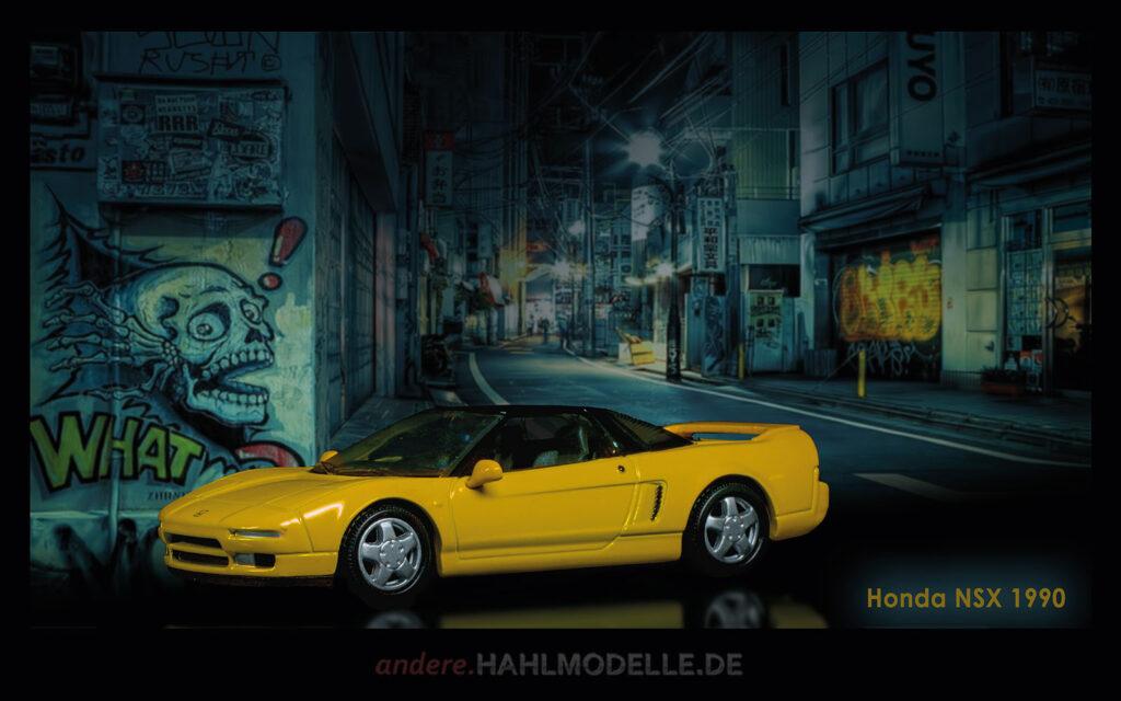 hahlmodelle.de | Automobildesign 1990-1999: Honda NSX, Coupé