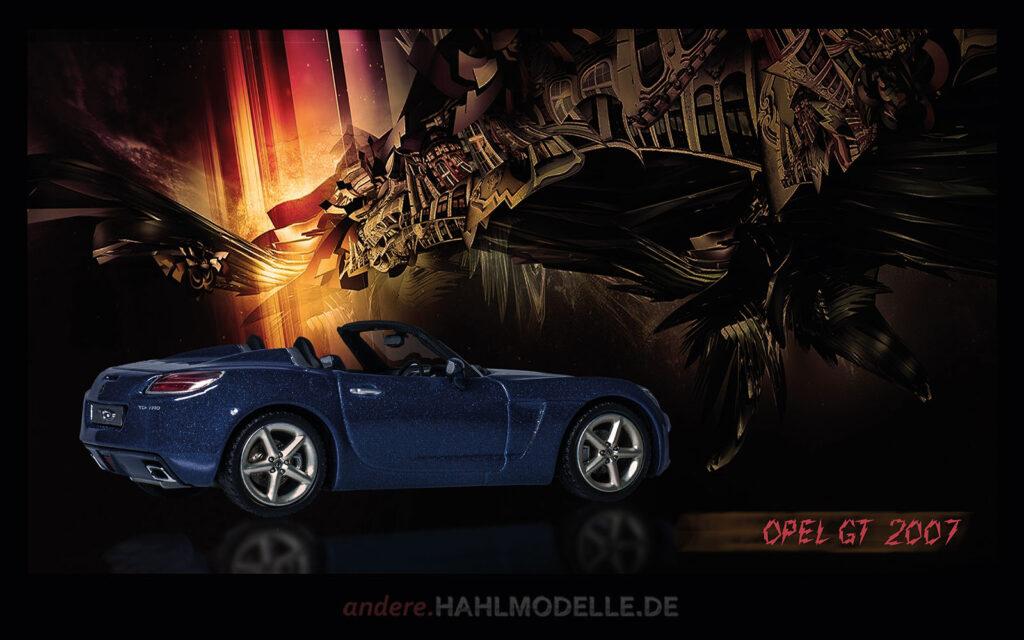 hahlmodelle.de | Automobildesign 2000-2009: Opel GT 2007, Roadster