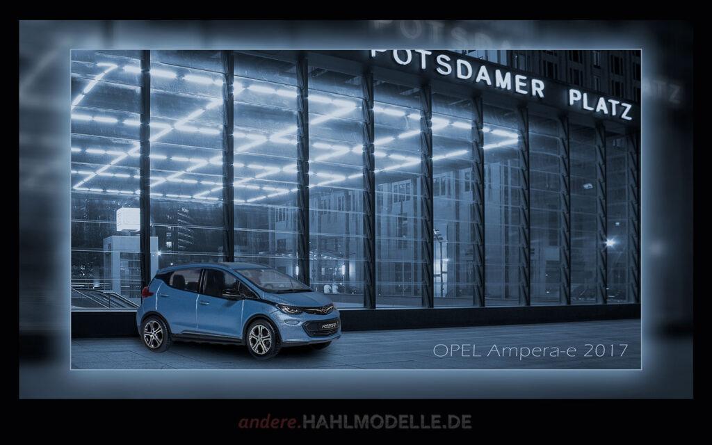 hahlmodelle.de | Automobildesign 2010-2019: Opel Ampera-e, Limousine